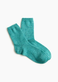 J.Crew Ankle boot socks in marled wool blend