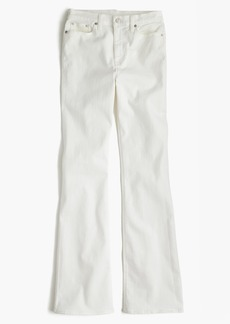 J.Crew Ashbury flare jean in white