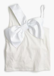 Asymmetrical bow top