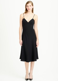 Aubrey dress in drapey matte crepe