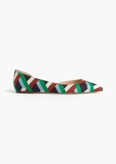 Audrey flats in Ratti® graphic diamond print