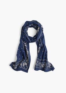 J.Crew Bandana print scarf