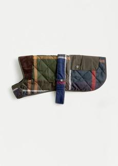 J.Crew Barbour® quilted tartan dog coat