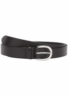 J.Crew Basic Mid Leather Belt