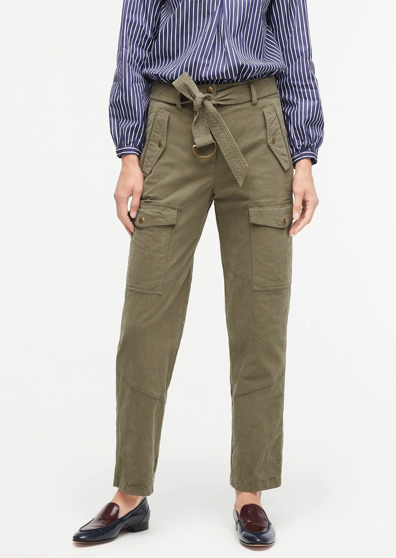J.Crew Belted military pant