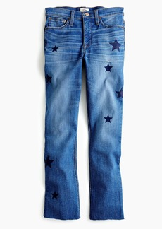 J.Crew Tall Demi-boot crop jean: star edition