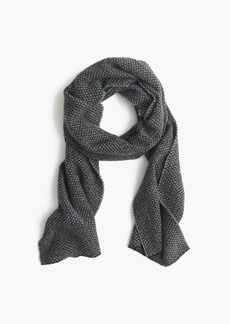 J.Crew Bird's-eye wool scarf