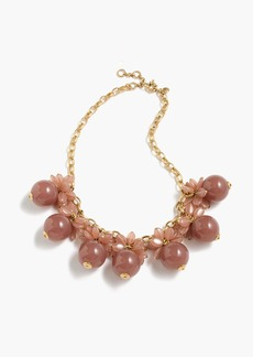 J.Crew Blossom bauble necklace