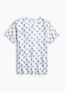 J.Crew Bouquet-print T-shirt