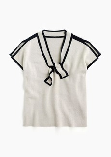 J.Crew Bow-neck sweater