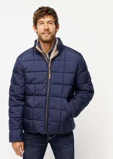 J.Crew Box-quilted jacket with eco-friendly PrimaLoft®