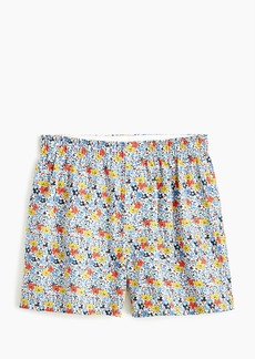 J.Crew Boxers in blue floral print