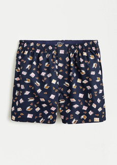 J.Crew Boxers in pizza party print
