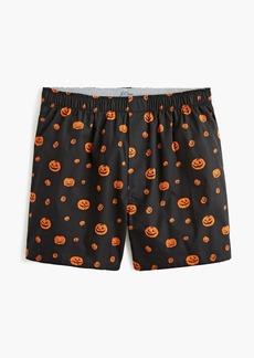 J.Crew Boxers in pumpkin patch print