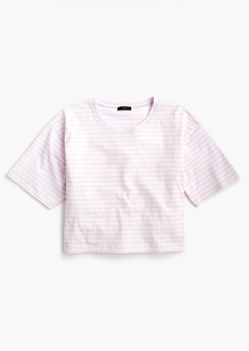 J.Crew Boxy striped T-shirt
