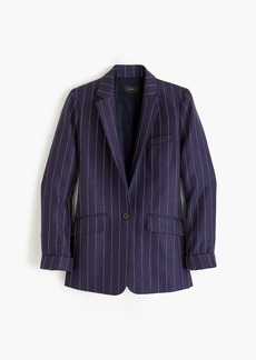 J.Crew Tall boy blazer in pinstriped linen