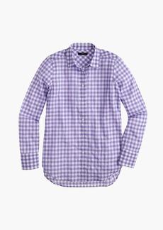 J.Crew Boy shirt in crinkle gingham