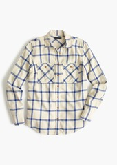 J.Crew Boyfriend shirt in rockport plaid