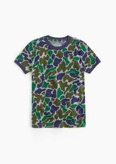 J.Crew Boys' camo T-shirt