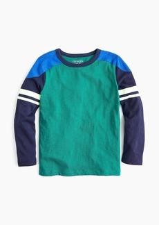 J.Crew Boys' colorblock football T-shirt