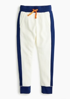 J.Crew Boys' colorblock sweatpant
