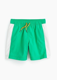 J.Crew Boys' colorblock swim trunk