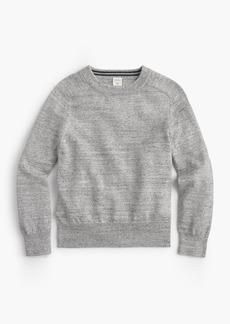 J.Crew Boys' cotton crewneck sweater