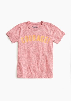 "J.Crew Boys' ""courage!"" T-shirt"