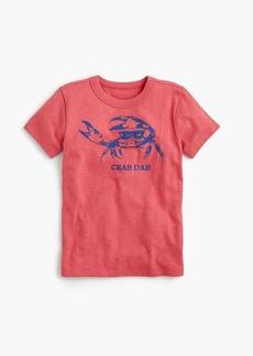 """J.Crew Boys' """"crab dab"""" T-shirt"""