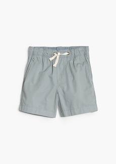 J.Crew Boys' dock short in garment-dyed chino