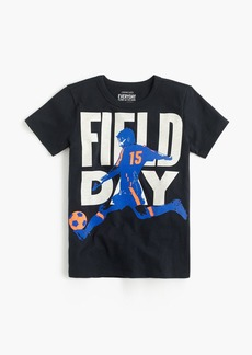 "J.Crew Boys' ""field day"" T-shirt"