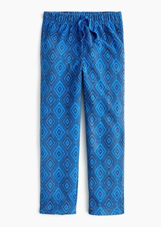 J.Crew Boys' fleece pant in diamond print
