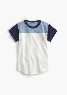 J.Crew Boys' football T-shirt