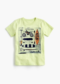 "J.Crew Boys' ""getting there"" T-shirt"