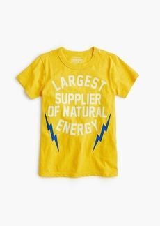 "J.Crew Kids' glow-in-the-dark ""energy!"" T-shirt"