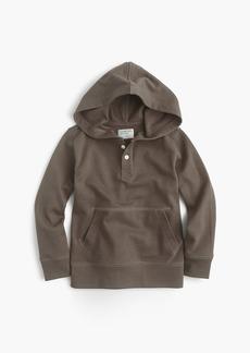 J.Crew Boys' henley popover hoodie