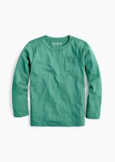 Boys' J.Crew Mercantile long-sleeve pocket T-shirt
