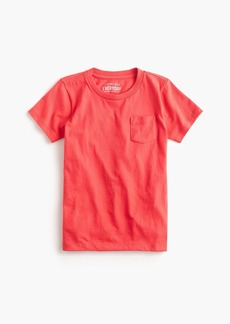 Boys' J.Crew Mercantile short-sleeve pocket T-shirt