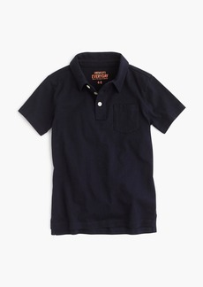 J.Crew Boys' jersey polo shirt