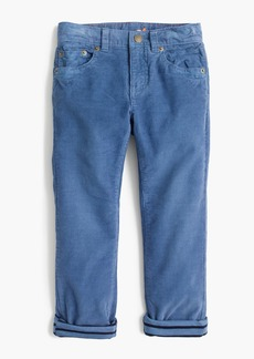 J.Crew Boys' lined stretch cords