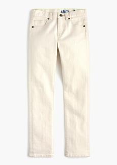 J.Crew Boys' off-white jean in slim fit