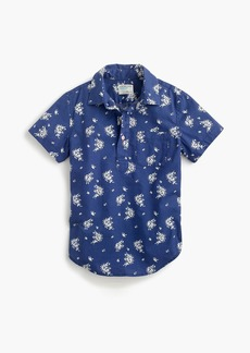 J.Crew Boys' popover shirt in tiny floral