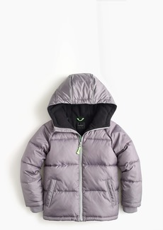 J.Crew Boys' puffer jacket with eco-friendly Primaloft®