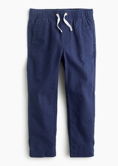 687a2ab91 On Sale today! J.Crew Boys' chambray pull-on pant in camo