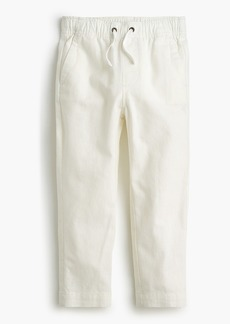 J.Crew Boys' pull-on pant in linen