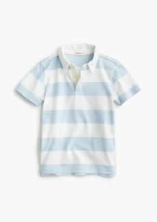J.Crew Boys' rugby-striped short-sleeve polo shirt