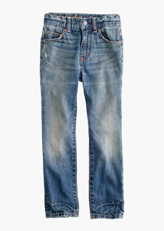 J.Crew Boys' rugged wash jean in slim fit