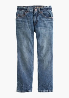 J.Crew Boys' rugged wash jean in straight fit