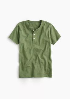 J.Crew Boys' short-sleeve henley shirt