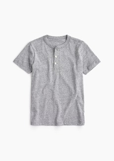 J.Crew Boys' short-sleeve henley shirt in the softest jersey